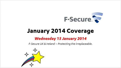 January Coverage (15th) | F-Secure Coverage (UK) | Scoop.it