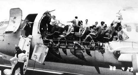 Accidente aéreo - asiento más seguro - Cómo sobrevivir a accidente de avión - NTSB de datos - Los registros de vuelo   Aviation   Scoop.it
