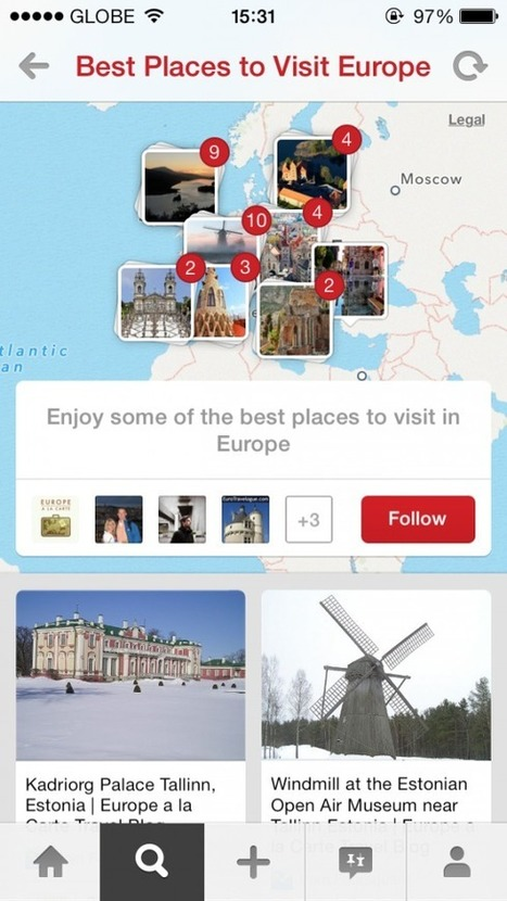 Oh, The Places You'll Go With Pinterest's New Travel-Oriented Place Pins Feature | English grammar | Scoop.it