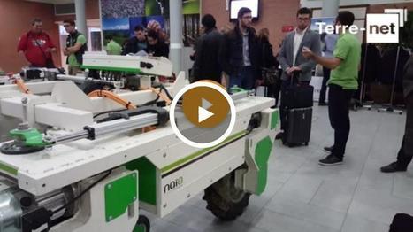 Forum sur la robotique agricole OZ de Naïo, Fendt Mars, Sony, Bosch: ils étaient tous présents   Pôle de formation BRIACE   Scoop.it