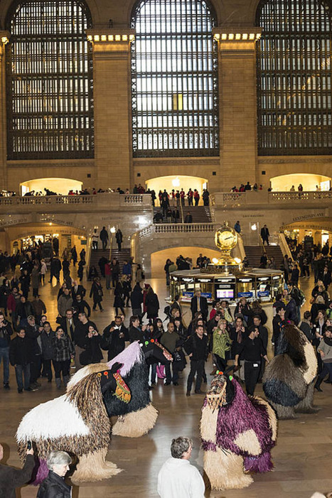 Art Notes: Nick Cave's horses promote dreaming as they dance in NYC terminal - Pittsburgh Post Gazette | Social Art Practices | Scoop.it