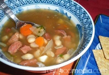 Recipe for Navy Bean (Ham and Bean) Soup | 4-Hour Body Bean Cookbook | Scoop.it