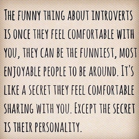 Life's truths   Introverts are inspiring   Scoop.it