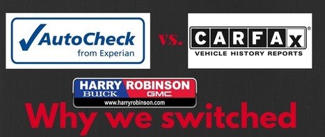 Why We Switched to AutoCheck | Car Shopping | Scoop.it