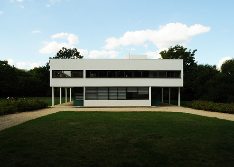 Le Corbusier's Villa Savoye encapsulates the Modernist style | The Architecture of the City | Scoop.it