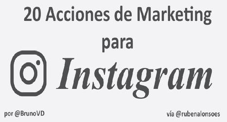 20 Acciones de Marketing para Instagram: tareas y Apps | Xianina Social Media | Scoop.it