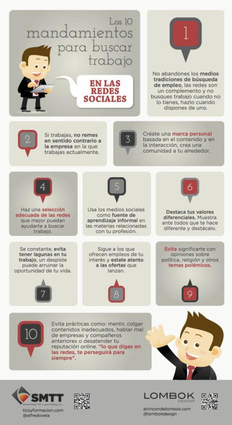10 tips para buscar trabajo en redes sociales   redes sociales   Scoop.it