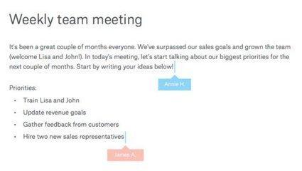 Dropbox : prochainement un service de notes dématérialisées | Colemi Social Media | Scoop.it