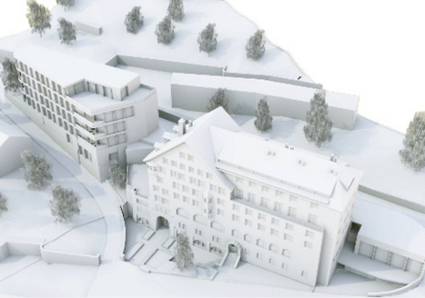 Grace St. Moritz, new hotel scheduled for 2018 | Alpine hotels | Scoop.it
