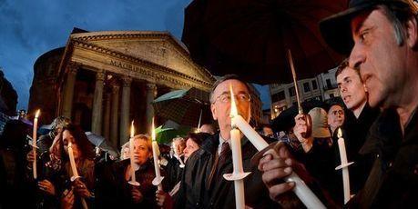 Une manifestation à Rome contre les suicides dus à la crise   694028   Scoop.it