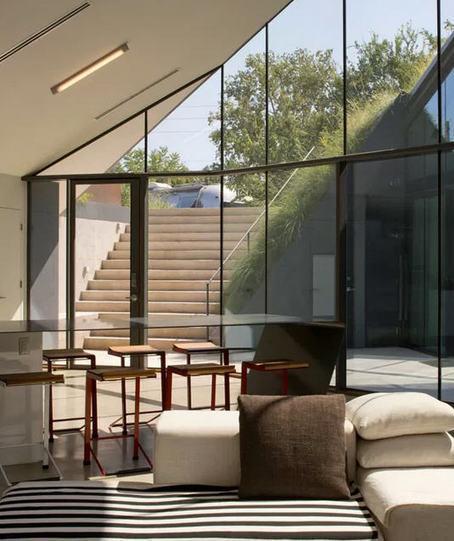 Une maison dissimulée dans la nature | Archiboom, l'architecture et le design par ceux qui les font ! - Blog CotéMaison.fr | Idées d'Architecture | Scoop.it