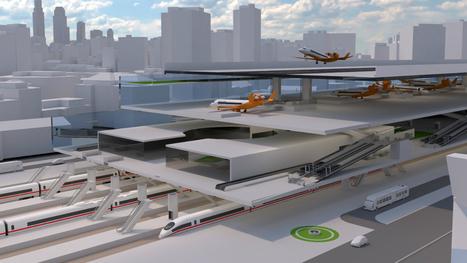 Des ingénieurs financés par Airbus réinventent l'aéroport de centre-ville   Filières métiers   Scoop.it
