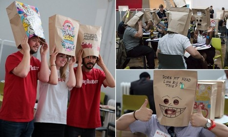 Quirky craze of speed-dating with a paper bag over your head | Kevin and Taylor Potential News Stories | Scoop.it