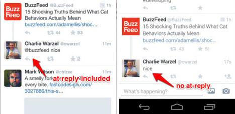 [Twitter] Vers la fin des réponses et des hashtags sur Twitter ? | Communication - Marketing - Web_Mode Pause | Scoop.it