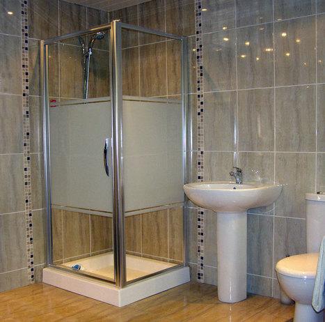 Bathroom Tile with blending Design | Home Designs | Scoop.it
