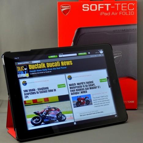 Review: ELEMENTCASE SOFT-TEC iPad Air FOLIO   Ducati.net   Ductalk Ducati News   Scoop.it
