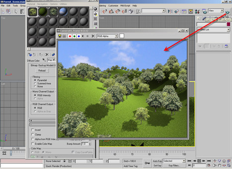 3DS MAX Effects Creating Forest Scene in 3DS Max Tutorial | Animacje 3D - narzędzia i techniki | Scoop.it
