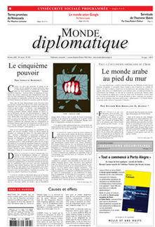 Le cinquième pouvoir, par Ignacio Ramonet (Le Monde diplomatique) | Occupy Belgium | Scoop.it