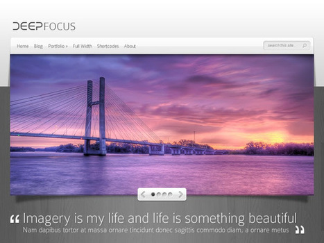 Top 12 WordPress Portfolio Themes 2013 | Best WordPress Themes | Scoop.it
