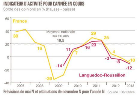 Conjoncture des PME en Languedoc-Roussillon [1er semestre 2013] | Conseil des PME | Scoop.it