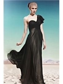 $ 146.79 Fabulous A-Line Floor-Length One-Shoulder Prom/Evening Dress | Fashion ladies | Scoop.it