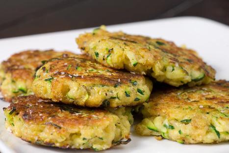 Zucchini Cakes Recipe | Ravish m.e. | Scoop.it