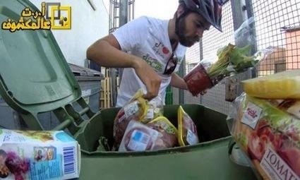 أرت مكشوف | عالم على المكشوف: يأكل من النفايات احتجاجا على هدر الطعام | zoomarabic | Scoop.it