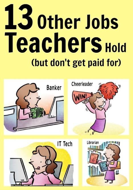 WeAreTeachers: 13 Other Jobs Teachers Hold (But Don't Get Paid For) | Gelukkig voor de klas | Scoop.it