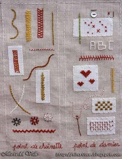 AlarTTex: SAL Mon Cahier de Broderie - Page 3 | Couture, tricot et broderie - idées et envies | Scoop.it