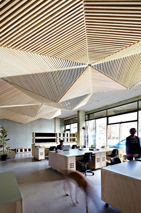Creative Workspaces | Office Environments Of The Future | Scoop.it