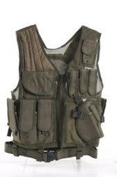 Ultimate Arms Gear Tactical OD Olive Drab Green Lightweight Edition Tactical Scenario Military-Hunting Assault Vest w/ Right Handed Quick Draw Pistol Holster | Military Surplus Center | Scoop.it