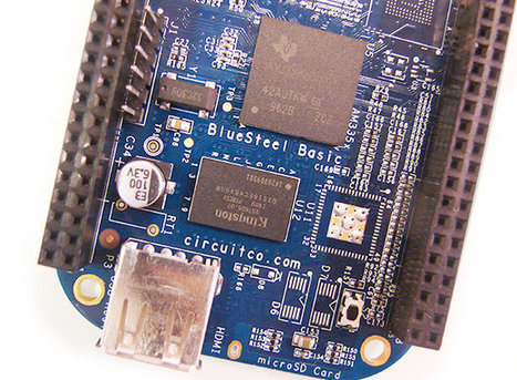 The BeagleBone Black Turns Blue with BlueSteel-Basic, Loses HDMI and Flash | Embedded Systems News | Scoop.it