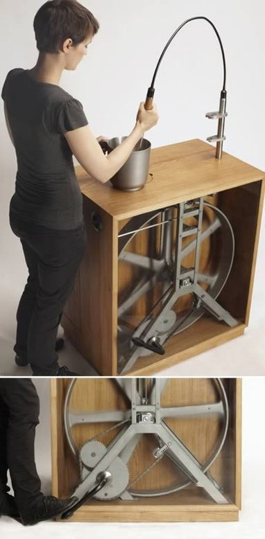 10 Weirdest (and Totally Cool) Pedal-Powered Gadgets | Strange days indeed... | Scoop.it