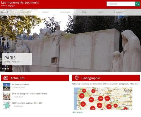 La base des monuments aux morts – France et Belgique | Université de Lille 3 | Nos Racines | Scoop.it