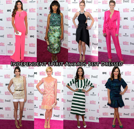 Who Was Your Best Dressed At The 2013 Film Independent Spirit Awards? | Celebritize You Mobile Marketing | Scoop.it