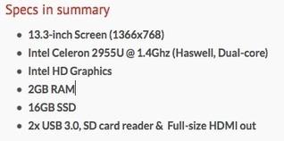 Toshiba Chromebook Details Finally Leak - OMG! Chrome! | Maagaard - Chromebooks | Scoop.it