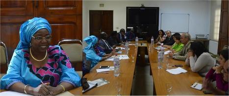 Visite de la ministre de la Santé du Sénégal à l'IPT   Institut Pasteur de Tunis-معهد باستور تونس   Scoop.it