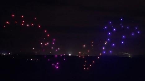 Watch Intel break Guinness World Record for largest drone swarm | An odd mix of stuff | Scoop.it