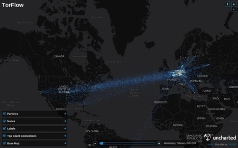 TorFlow – Visualisez en temps réel le trafic du réseau TOR   Time to Learn   Scoop.it