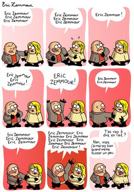 Eric Zemmour | Quitte à pleurer, autant que ce soit de rire, non ? | Scoop.it