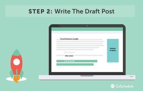 How To Write A Blog Post: 5-Point Checklist | VisualContent | Scoop.it