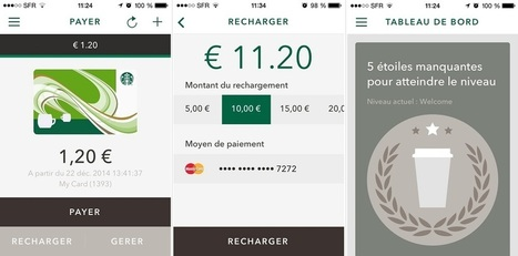Starbucks lance en France son application de paiement mobile | L'agroalimentaire, le marketing et moi | Scoop.it
