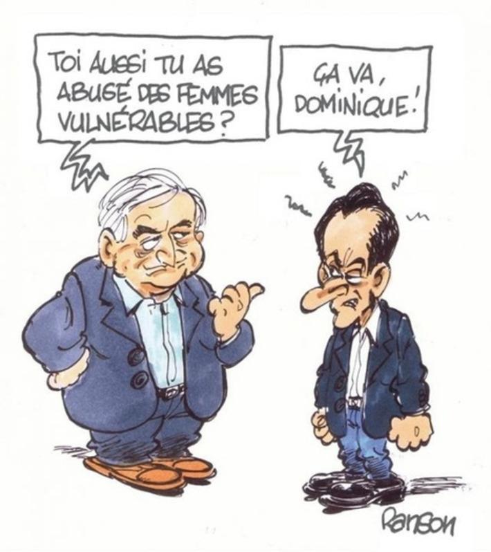 DSK / Sarkozy : un point commun ? | Baie d'humour | Scoop.it
