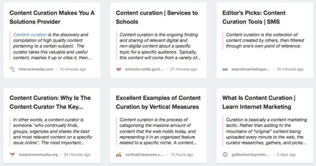 What Is Content Curation: My Collection of the Best Definitions | Content Curation World | Scoop.it