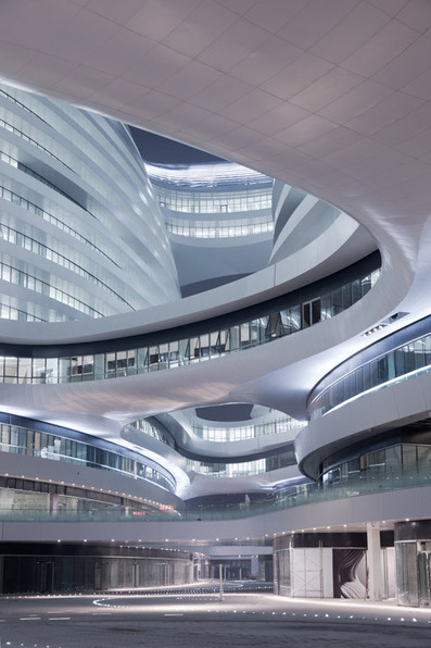 Galaxy Soho Beijing by Zaha Hadid Architects | Arte y Fotografía | Scoop.it