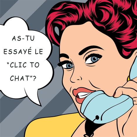Le Click to Chat, l'avenir du e-commerce? - ManaWeb | Logiciel de chat | Scoop.it