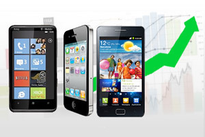 Smartphones : Android largement devant iOS, RIM en difficulté | QRdressCode | Scoop.it