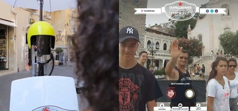 Ad campaign enables anyone to spend 3 minutes as a robot in Italy | Discovering stories | Scoop.it