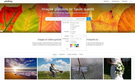Pixabay : un moteur de recherche gratuit de 780 000 images libres de droit | Time to Learn | Scoop.it