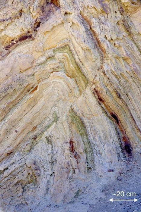 Folding and Faulting in the Calico Mountains - Earth Science Picture of the Day | Tectonic Hazards | Scoop.it